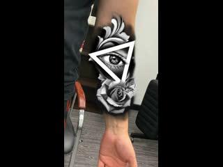 Создание эскиза для татуировки