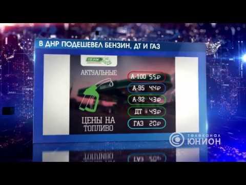 В ДНР подешевел бензин, ДТ и газ. 09.09.2019, Панорама