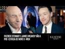 Patrick Stewart e James McAvoy vão a pré-estreia de novo X-Men: Iguatemi Views