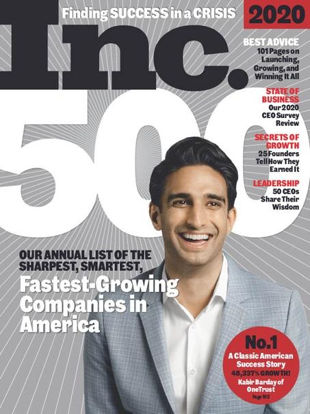 Inc. Magazine - 09.2020