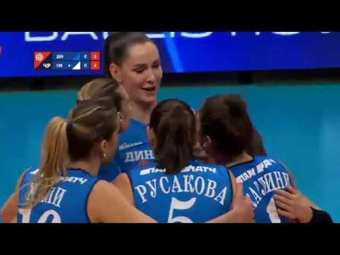 Волейбол ЧР женщины сезон 2019/2020 8-й тур Динамо Москва vs Вк Сахалин