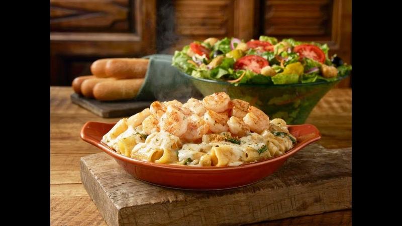 Обзор итальянского ресторана Olive Garden