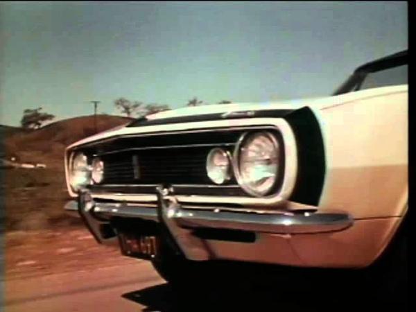 1967 Vintage Camaro Advertising