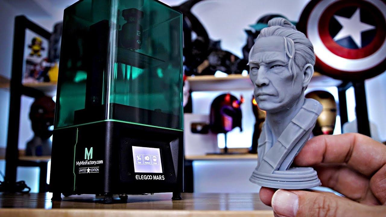 Хороший недорогой LCD принтер ELEGOO Mars -