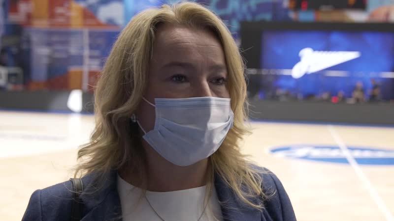 Наталия Фураева вице президент ПБК ЦСКА по спортивной работе