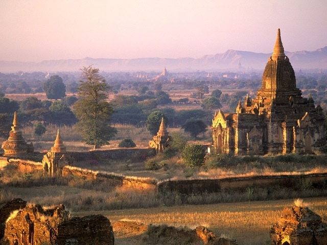 Древний город Баган в Бирме, изображение №3