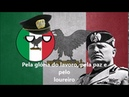 Giovinezza Hino da República Social Italiana Legendado PT BR