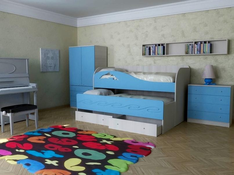 Плюсы и минусы двухъярусных выдвижных кроватей, популярные дизайны, изображение №9
