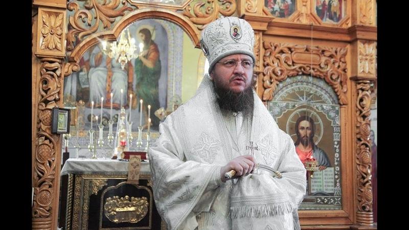 Слово о монашестве произнесённое архиепископом Феодосием в Стеблёвском монастыре 21 10 2020 г