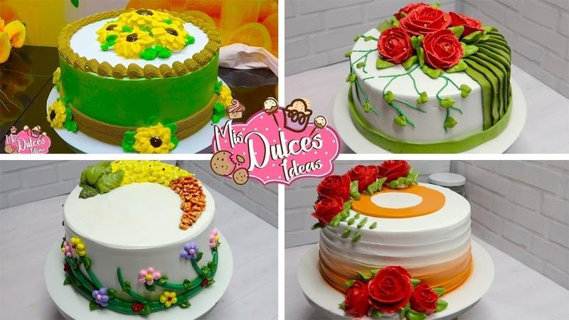 Decorando pasteles y tortas ideas creativas cake decorating Compilation Decoracao de Bolo
