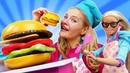 Кукла Марго и работа мечты в Макдональдс Видео для девочек про кукол Барби - Мы же подруги