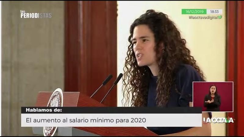 EN VIVO l LUISA MARÍA ALCALDE ANUNCIA UN AUMENTO HISTÓRICO AL SALARIO MÍNIMO