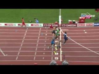 Men's 100m Semifinal 1 European Athletics Championships Zurich 2014
