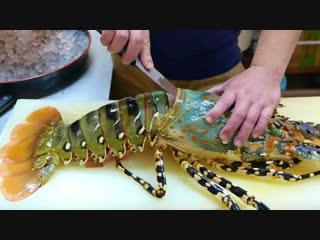 Радужный Омар - Японская уличная еда