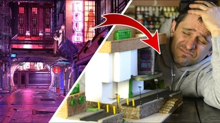 I ALMOST GAVE UP!:  Cyberpunk Diorama, the most COMPLICATED project I've ever done