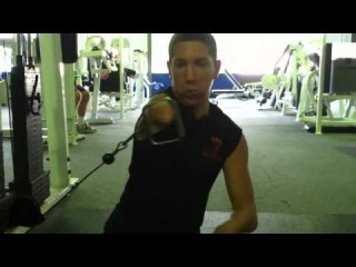 Get motivated! 50lb chest workout