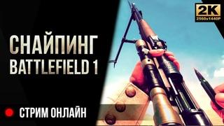 Снайпинг • Battlefield 1 [4K]