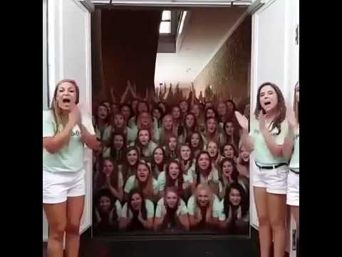 Alpha Delta Pi Texas sorority's 'terrifying' recruitment video