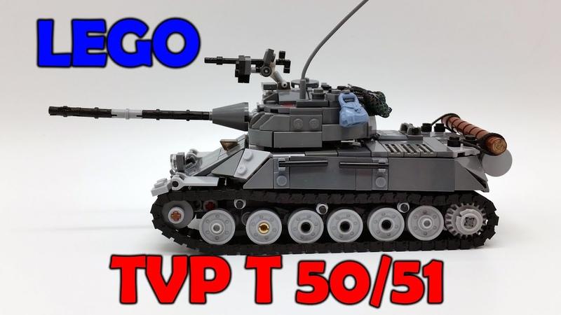 LEGO TVP T50/51 [Lego Tank MOC]