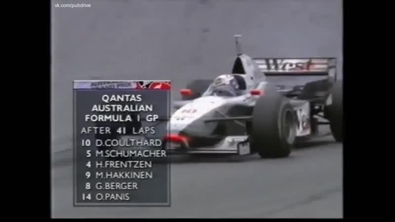 F1 1997 Гран при Австралии Гонка