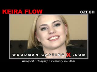 Keira Flow (Casting X *Updated*) [2020, Casting, Anal, DP, Deep-throat, Rim Job, Ass To Mouth, Ass Licking, 720p]