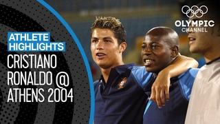 Cristiano Ronaldo 🇵🇹 at Olympiad Athens 2004 | athlete highlights