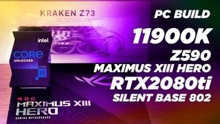 СБОРКА ИГРОВОГО ПК 2021 Gaming PC Build 2021 | 11900K | SILENT BASE 802 | timelaps #shorts