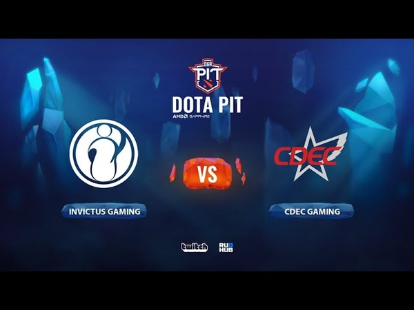 Invictus Gaming vs CDEC Gaming OGA Dota PIT Season 2 China bo3 game 1 Mortalles Lost