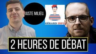 (🔴EN DIRECT) Juste Milieu feat. Gérard Infos : Macron, coronavirus, dictature et rigolade