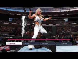 WWE_2K20__Beth_Phoenix_vs_Booker_T_2,_Intergender_Man_vs_Woman_Wrestling