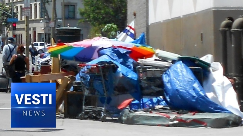 America is Becoming the Third World! Glitz and Glamour Replaced by Extreme Poverty in LA!