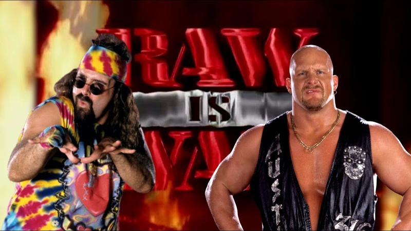 WWE 2K20 Dude Love vs Stone Cold Raw Is War '97 No Holds Barred Match