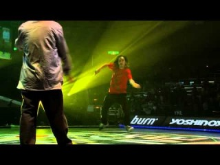 BUUBEE(sucreamgoodman) vs Atsuki(LOCA) DANCE@LIVE JAPAN FINAL 2014 HIPHOP【QUARTERFINAL】