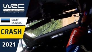 BIG CRASH Sean Johnston - Rally Estonia 2021