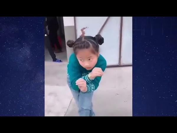7 летняя китаянка танцует так что позавидует любой взрослый