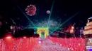 Feu d'artifice Arc de Triomphe Nouvel an 2020 vidéo entière Fireworks in Paris ❤❤