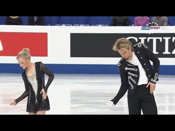 Penny Coomes Nicholas Buckland 2014 World Championships FP