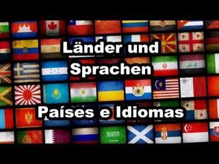 #Sprachen verschiedener #Länder, #Idiomas de diferentes #paises, #Deutsch +#Spanisch, #Alemán