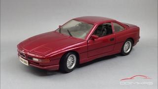 Немецкий Gran Turismo: BMW 850i E31 1992    Maisto    Масштабные модели автомобилей 90-х
