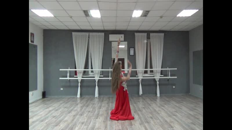 Баранова Алина ориенталь юниоры2 КП