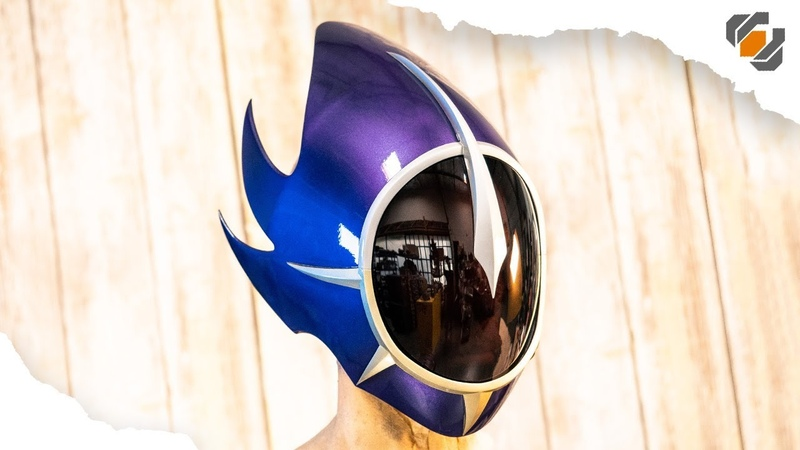 3D Printing Zero's Mask CODE GEASS Lelouch of the Re surrection Funimation