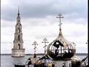 Мальчик ныряет к затопленной церкви Калязина фильм Берег 1984