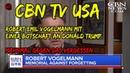 CBN TV USA Robert Emil Vogelmann mit einer Botschaft an Donald Trump baut eine Mauer eine große