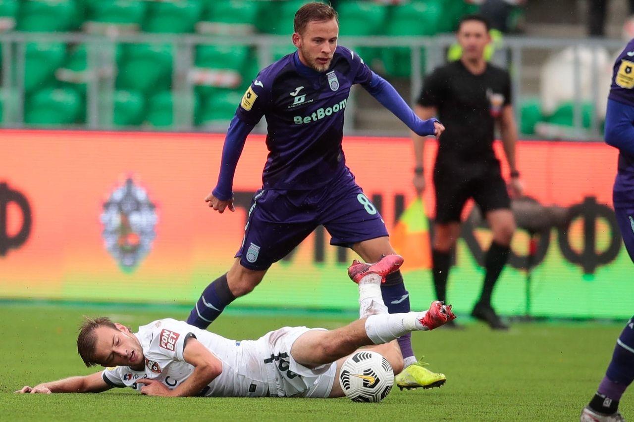 Уфа - ЦСКА, 0:1
