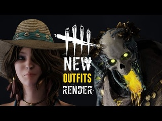 Dead by Daylight Animation   New Outfits Render - Greek Collection