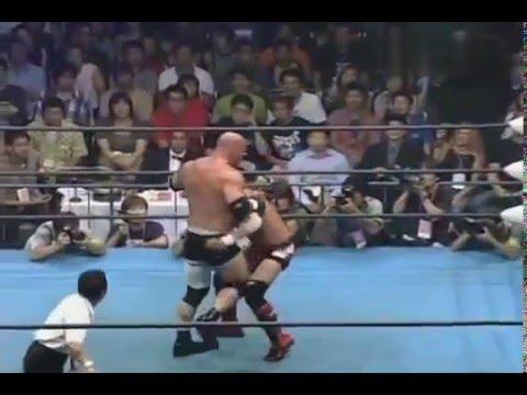 Bill Goldberg vs Taiyo Kea Fantastic Fight HQ Video