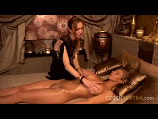 Belle claire and florane russell the tantra goddess. czech tantra. episode 3 [lesbian, massage]