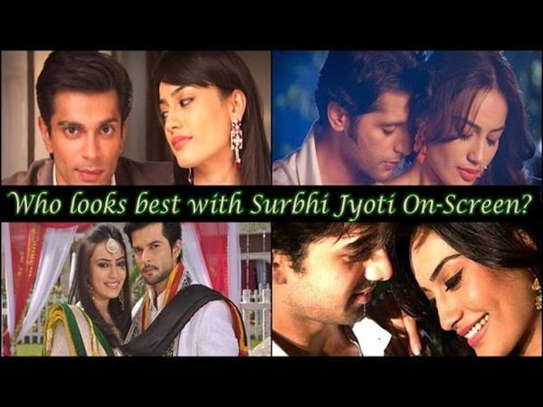 Who looks best with Surbhi Jyoti On-Screen