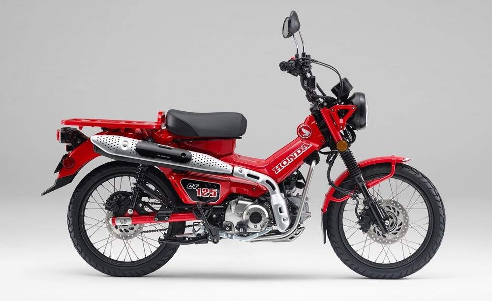 Honda CT125 Hunter Cub 2021 официально представили