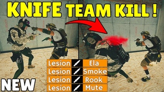 This *NEW* Team Killing With Knife Cheat Will Destroy Rainbow Six Siege